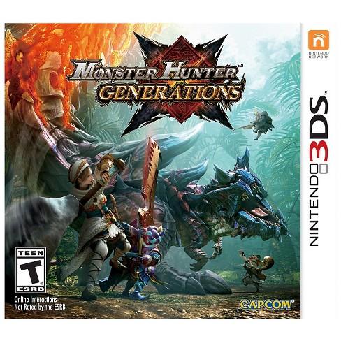 Monster Hunter Generations Nintendo 3DS - image 1 of 8
