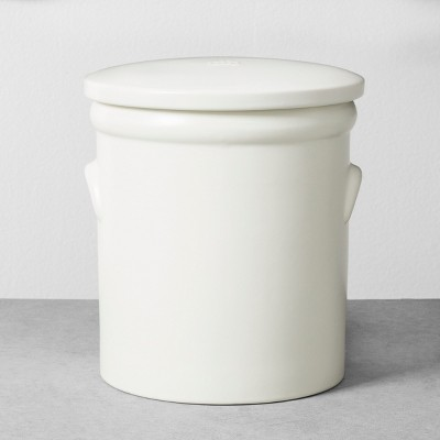 Food Storage Canister Small White - Hearth & Hand™ with Magnolia