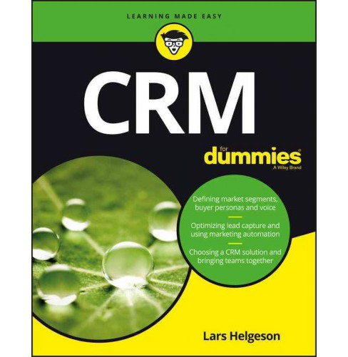 CRM for Dummies (Paperback) (Lars Helgeson) - image 1 of 1