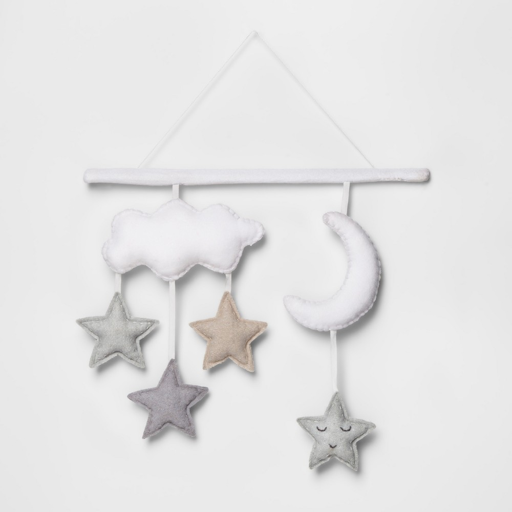 Hanging Wall Décor Starry Slumber - Cloud Island White