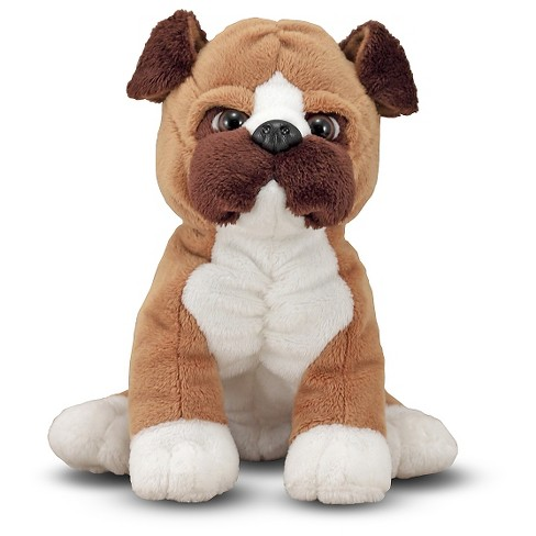 Melissa & Doug® Bentley Boxer - Stuffed Animal Puppy Dog (12 inches tall) - image 1 of 1