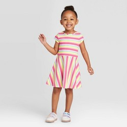 Toddler Girls' Short Sleeve Knit Dress - Cat & Jack™