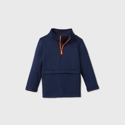 Toddler Boys' Zip Layer Sweatshirt - Cat & Jack™ Navy