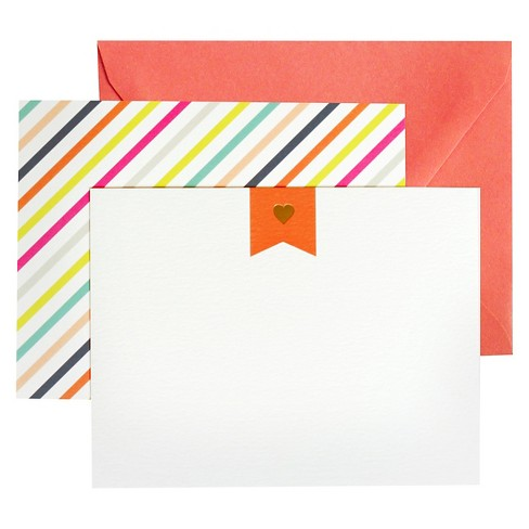"""8ct """"Sweetheart"""" Notecards - image 1 of 1"""