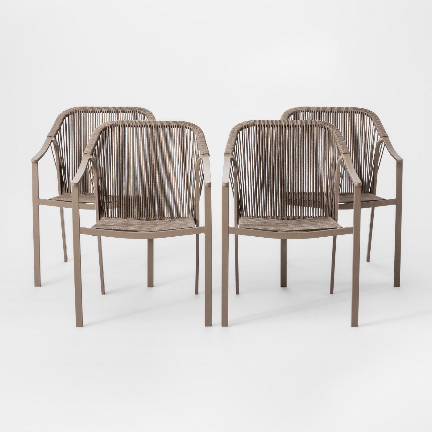 4 Pack Project 62 Levy Patio Dining Chair