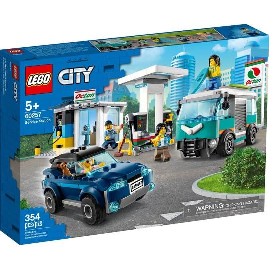LEGO City Service Station 60257 Building Set image number null