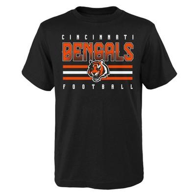 NFL Cincinnati Bengals Boys' Short Sleeve Cotton T-Shirt