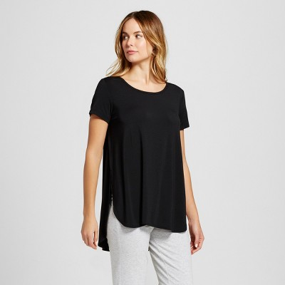 Maternity Nursing Sleep T-Shirt - Gilligan & O'Malley™ - Black M