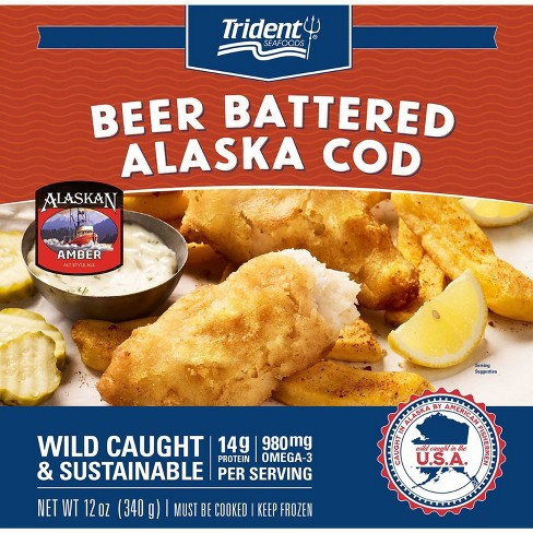 Trident Pubhouse Battered Cod - 12oz - image 1 of 3