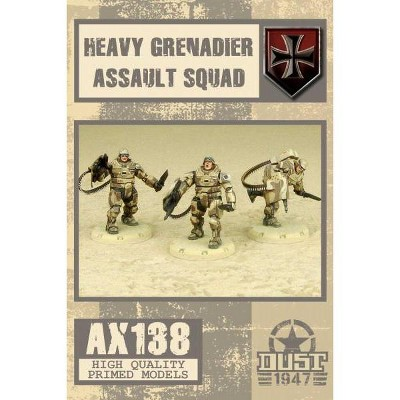 Heavy Grenadier Assault Squad Miniatures Box Set