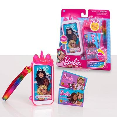 Barbie Unicorn Play Phone Set