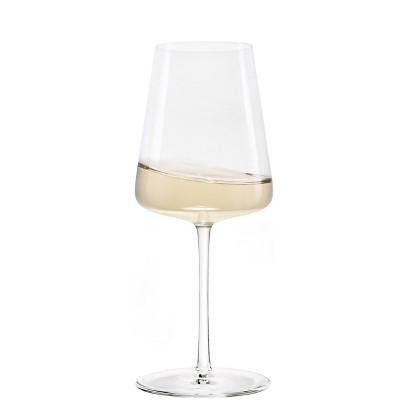 13.3oz 4pk Crystal White Wine Glasses - Stoelzle
