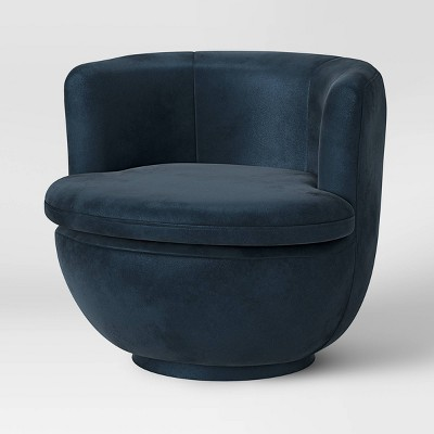 Dorton Round Swivel Barrel Chair - Project 62™