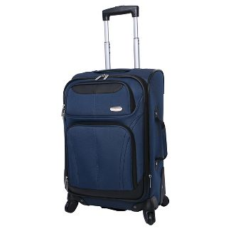 "Skyline 21"" Spinner Carry On Suitcase - Blue"