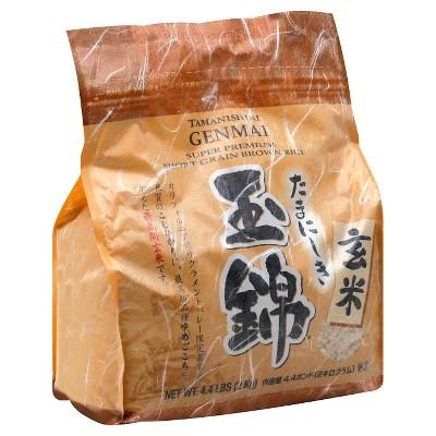JFC Tamanishik Genmai Short Grain Brown Rice - 4.4lbs