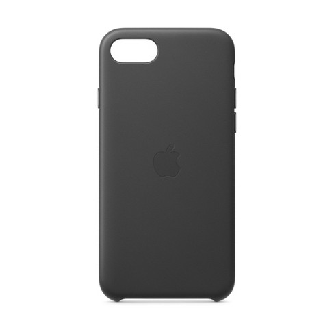 Apple iPhone SE Leather Case - Black - image 1 of 3