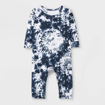 Grayson Mini Baby French Terry Tie-Dye Romper