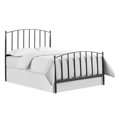 Queen Whitney Adult Bed Black - Crosley