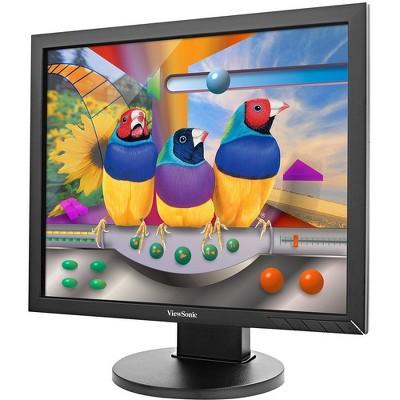 "Viewsonic VG939Sm 19"" SXGA LED LCD Monitor - 5:4 - Black - 1280 x 1024 - 16.7 Million Colors - 250 Nit - 14 ms - 60 Hz Refresh Rate - DVI - VGA"