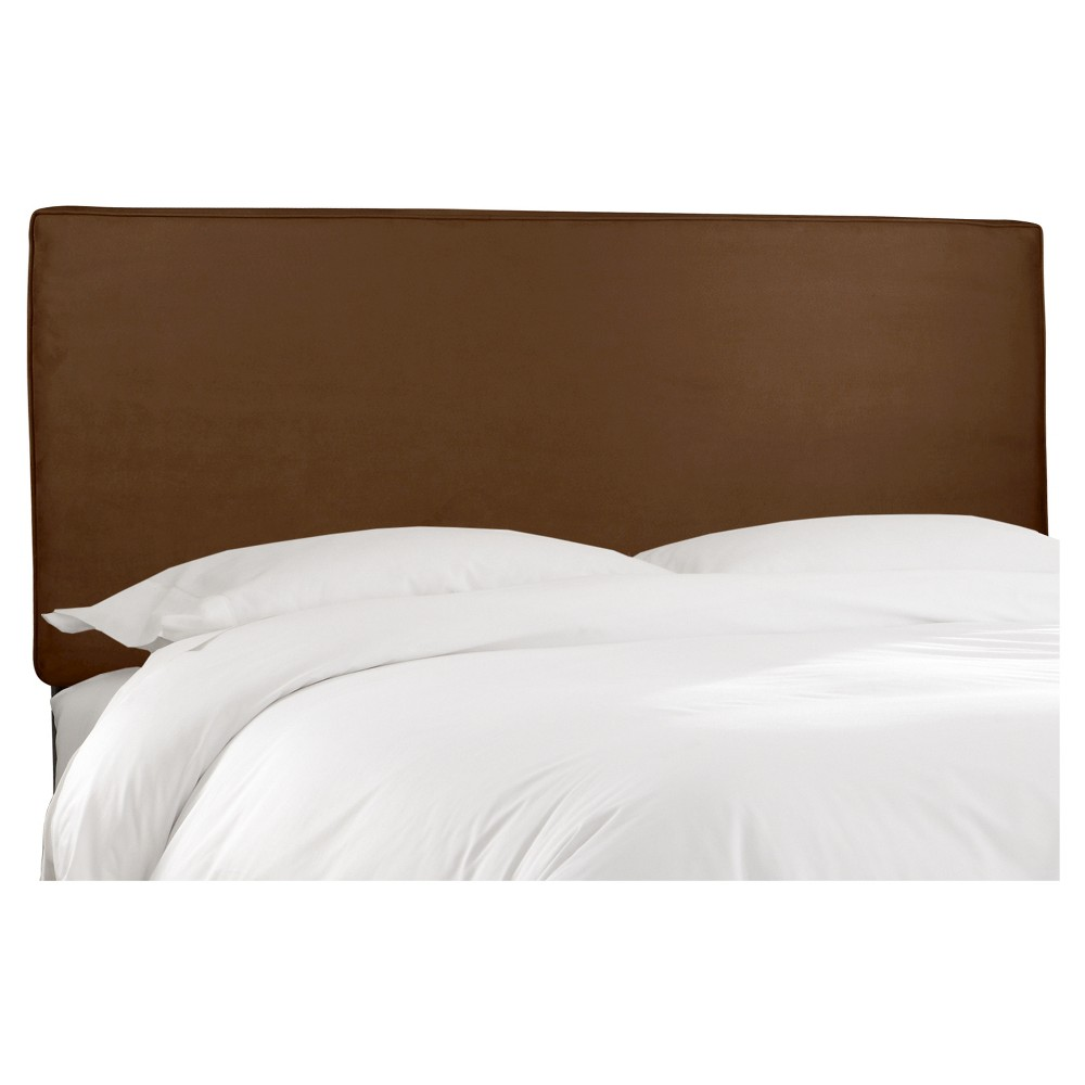 Austin Headboard Premier Chocolate Full - Skyline Furniture