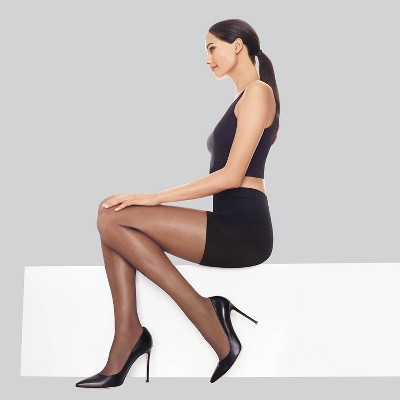 Hanes Premium Women's Perfect Leg Boost Cellulite Smoothing Tights