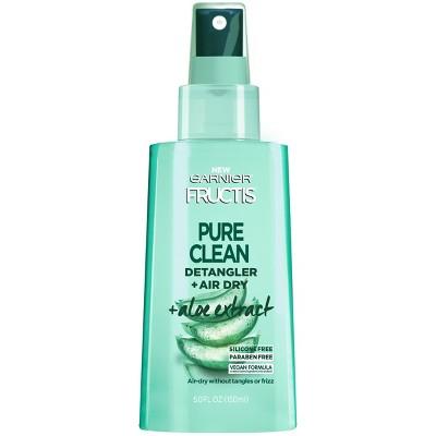 Garnier Fructis Pure Clean Detangler + Air Dry - 5.0 fl oz