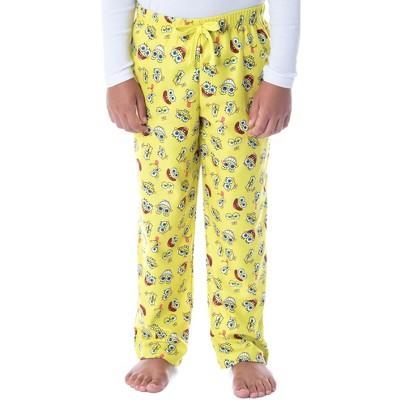 Nickelodeon Boys' SpongeBob SquarePants Expressions Kids Pajama Pants