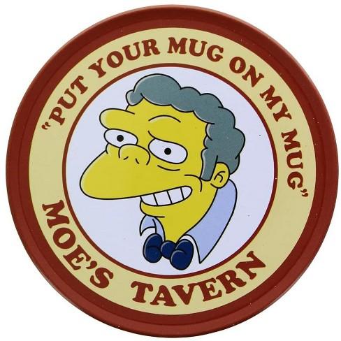 "Nerd Block The Simpsons Moe's Tavern ""Put Your Mug On My Mug"" Coaster - image 1 of 1"