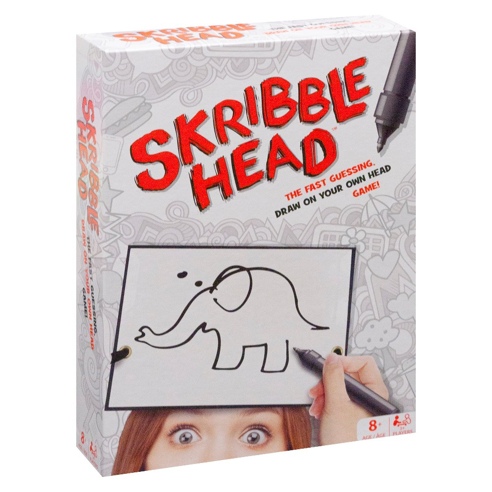 Buffalo Games Scribble Head Drawing Game