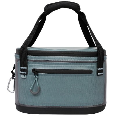 Penguin Coolers 6 Can Premium Lunch Bag - Gray