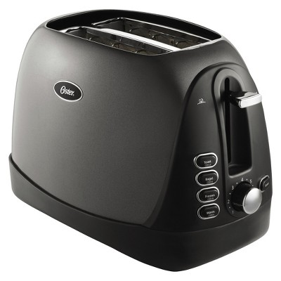 Oster 2-Slice Toaster, Black, TSSTTRJBG1