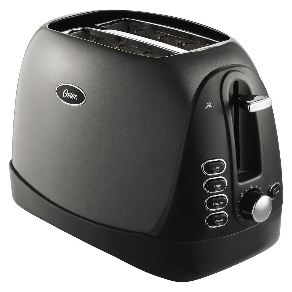 Oster 2-Slice Toaster, Black, TSSTTRJBG1, Gray 14024625