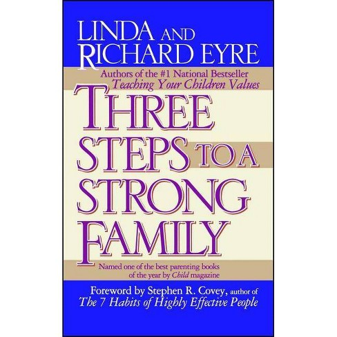 Three Steps to a Strong Family - by  Linda Eyre & Richard Eyre (Paperback) - image 1 of 1