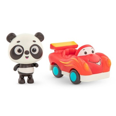 Land of B. Light-Up Toy Panda & Car Bingo & Freddy Zoom