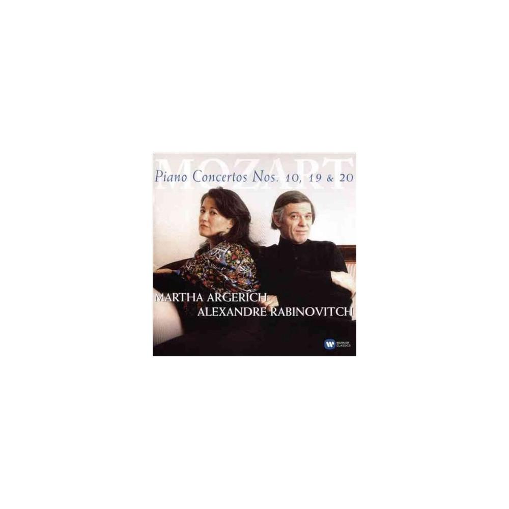 Martha argerich - Mozart:Piano ctos kv 466 (CD)