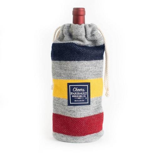 Wool Wine Bag - Faribault Woolen Mill - image 1 of 1