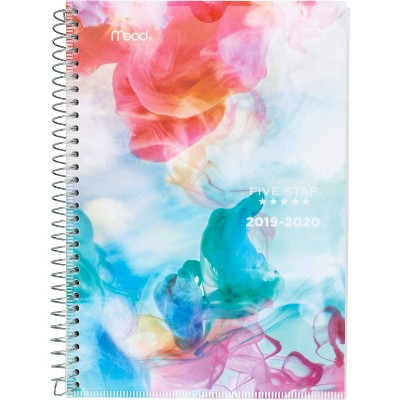 "Five Star 2019 2020 Fluid Academic Planner 5.5""X 8.5"" Smoke by 2020 Fluid Academic Planner 5.5""X 8.5"" Smoke"