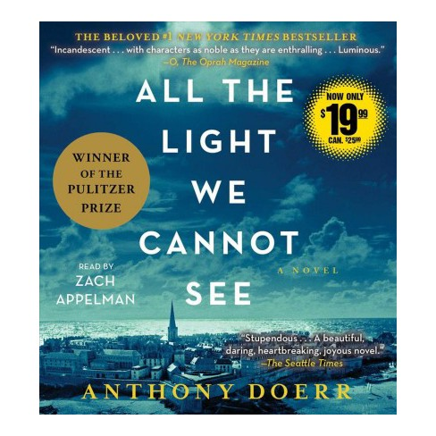 All The Light We Cannot See Unabridged Cdspoken Word Anthony
