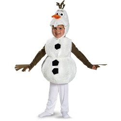 Disguise Frozen Disney Deluxe Olaf Child Toddler Costume 3T-4T