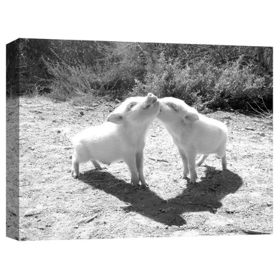 "11"" x 14"" Piggy Love Decorative Wall Art - PTM Images"