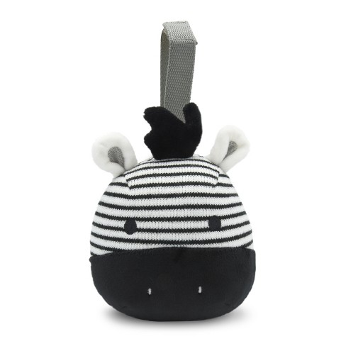 GO by Goldbug Zebra Travel Soother - image 1 of 6