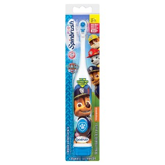 Arm & Hammer Spinbrush Kids Paw Patrol Battery Toothbrush - Colors may vary
