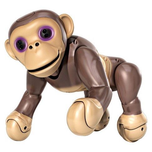 Zoomer Chimp, Interactive Chimp with Voice Command, Movement and Sensors by Spin Master - image 1 of 6