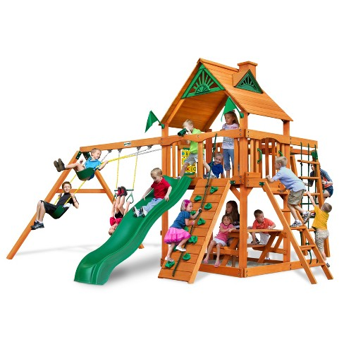 Gorilla Playsets Navigator Deluxe Swing Set - image 1 of 3