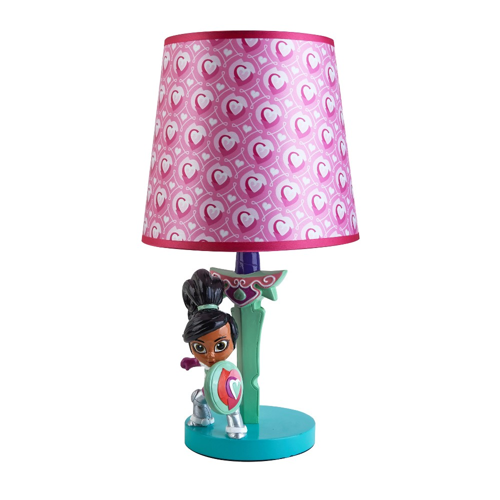 Image of Nella the Princess Knight Table Lamp, Purple