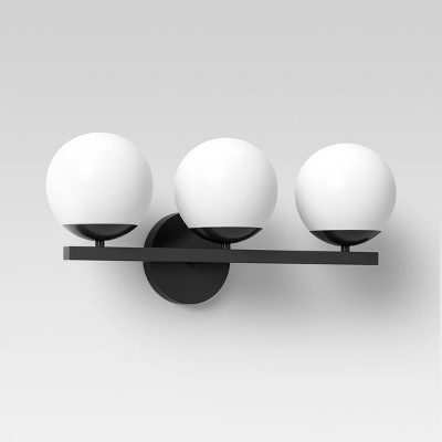 Geneva Globe Collection Vanity Light Black - Project 62™