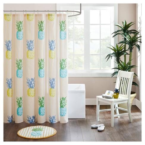 Kemo Cotton Duck Shower Curtain Yellow Target