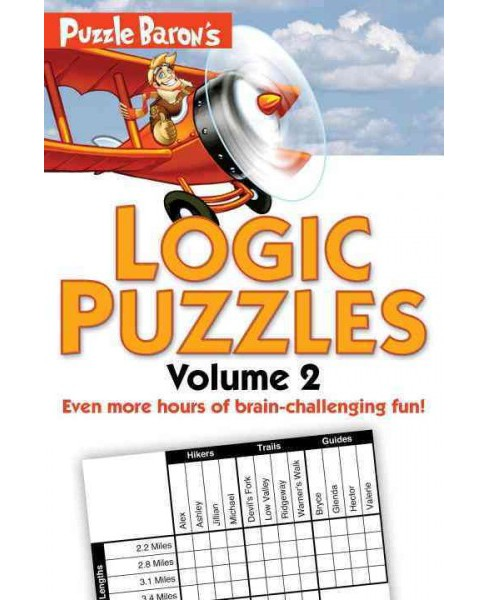 Puzzle Baron's Logic Puzzles (Vol 2) (Paperback) - image 1 of 1