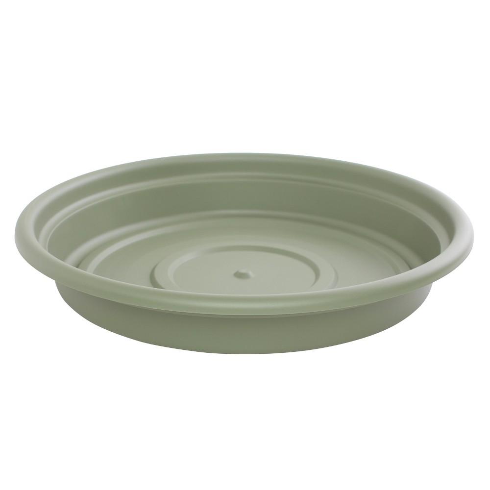 12 Dura Cotta Plant Saucer - Living Green - Bloem
