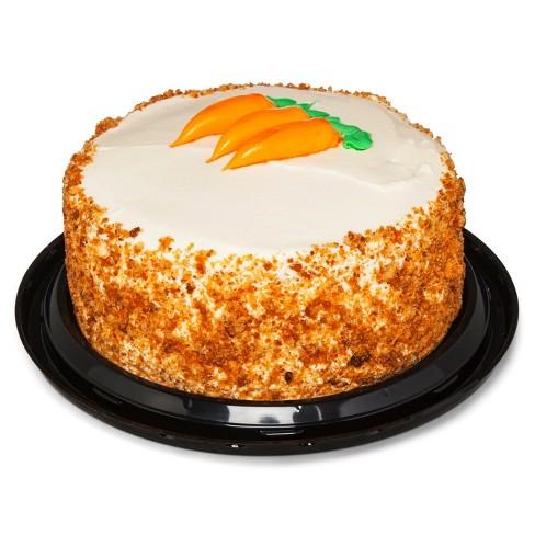 Stupendous Carrot Cake 9 Market Pantry Target Personalised Birthday Cards Veneteletsinfo
